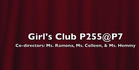 Girls Club at PS7