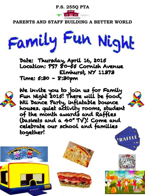 FamilyFunNight2015