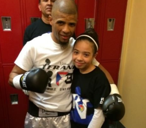 From Jail to Professional Boxing: How One Dad Is Fighting for His Family In and Out of the Ring