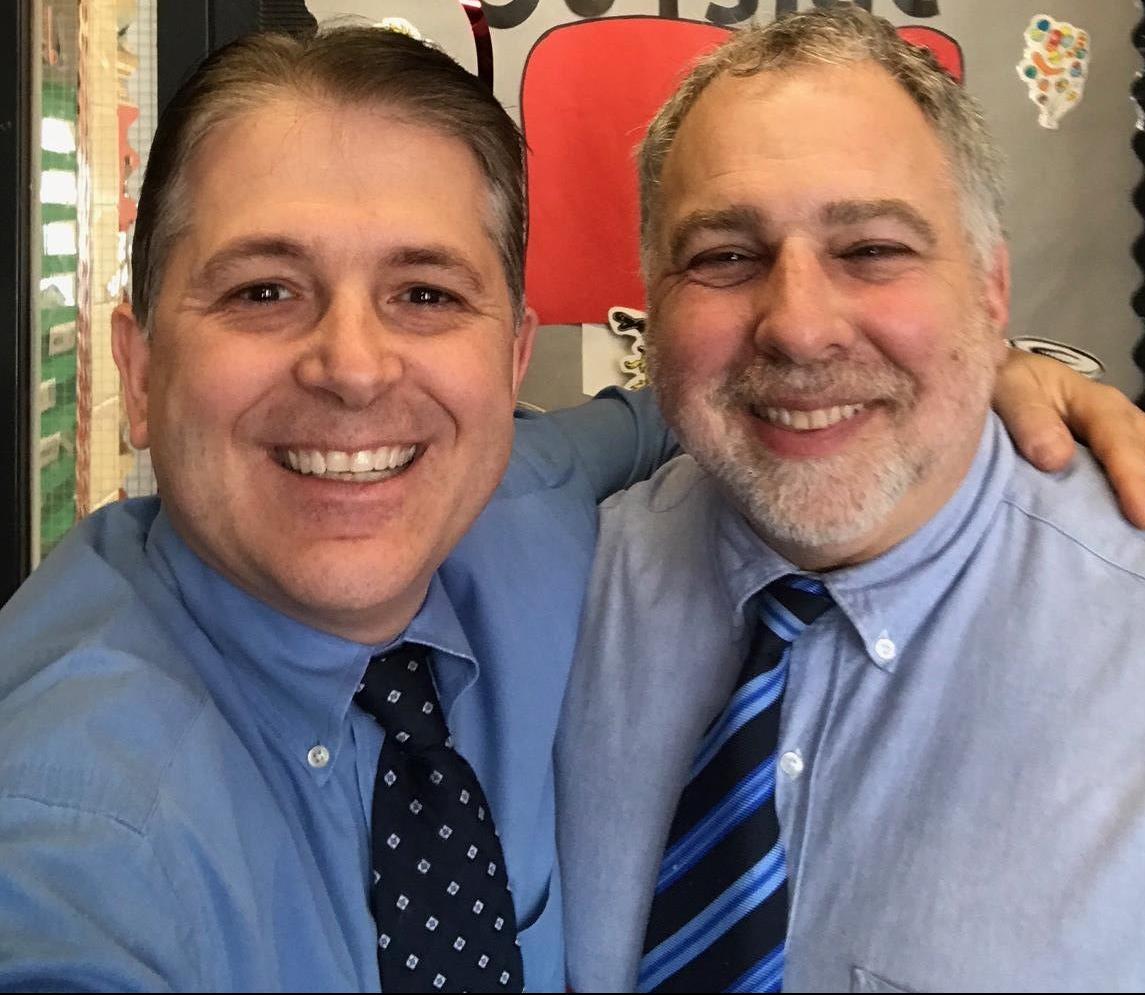 Gregg Lopez and Richard Marowitz smiling.