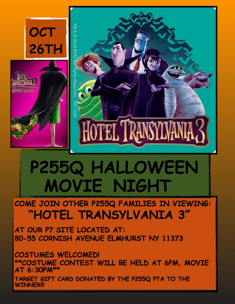 HALLOWEEN MOVIE NIGHT POSTER 3
