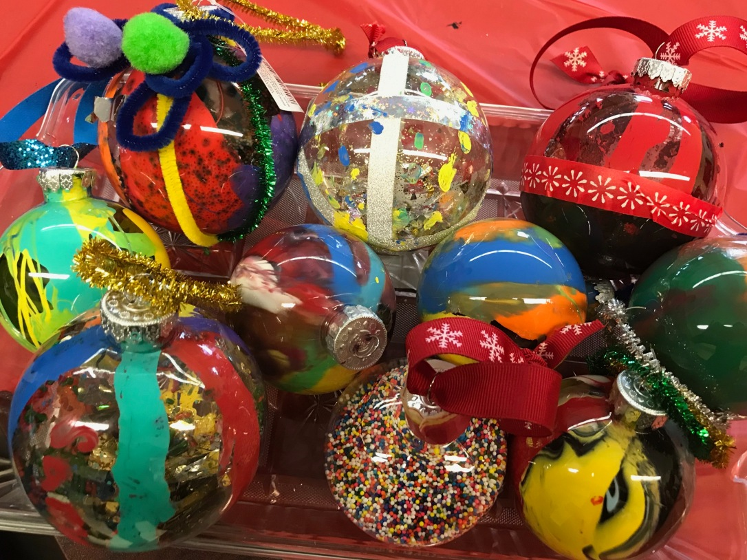 Decorated Baubles