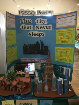 D 75 Social Studies Fair: New York, Then & Now by P255Q @ PS 7