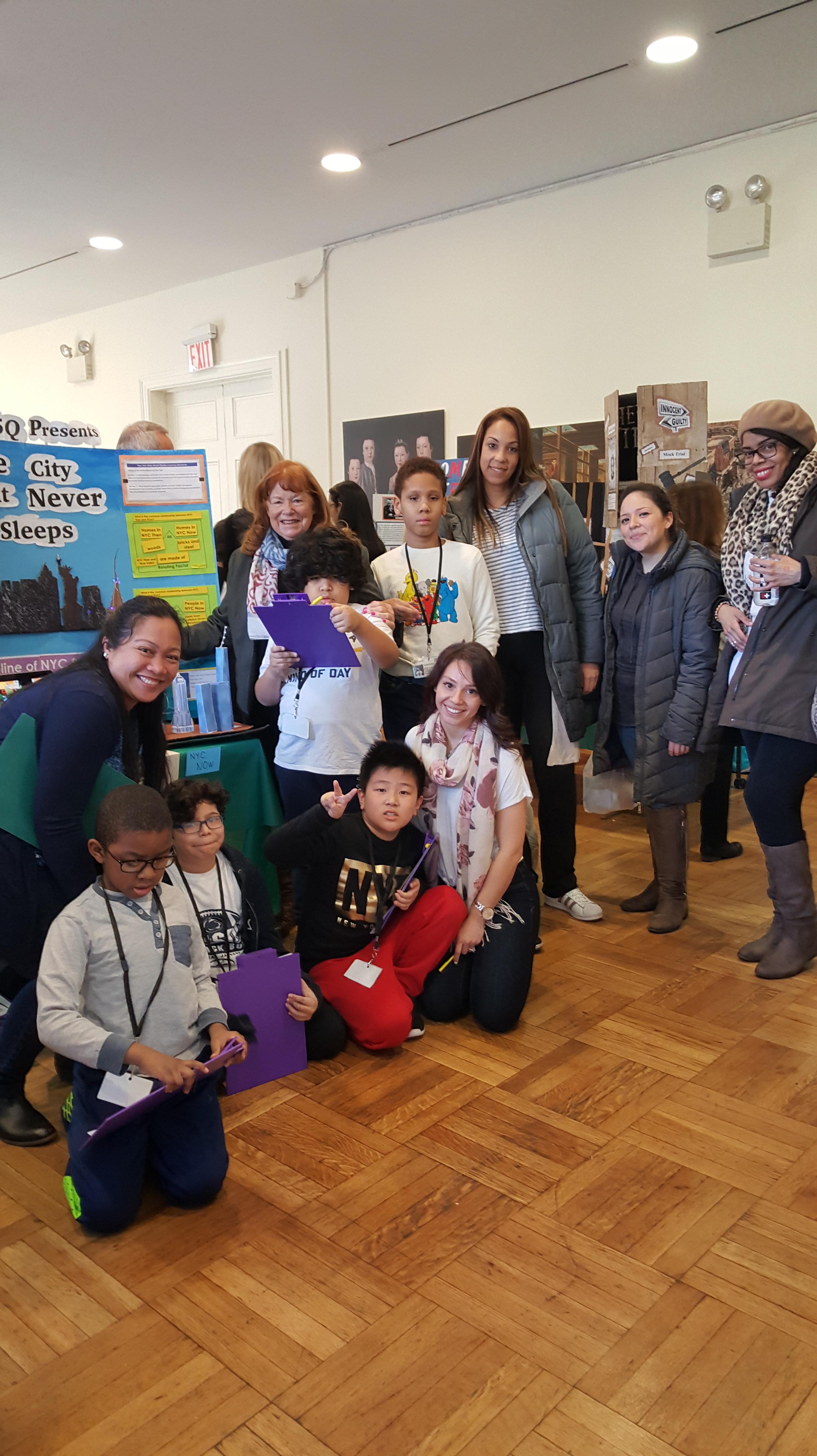 D75 Social Studies Fair: New York, Then & Now
