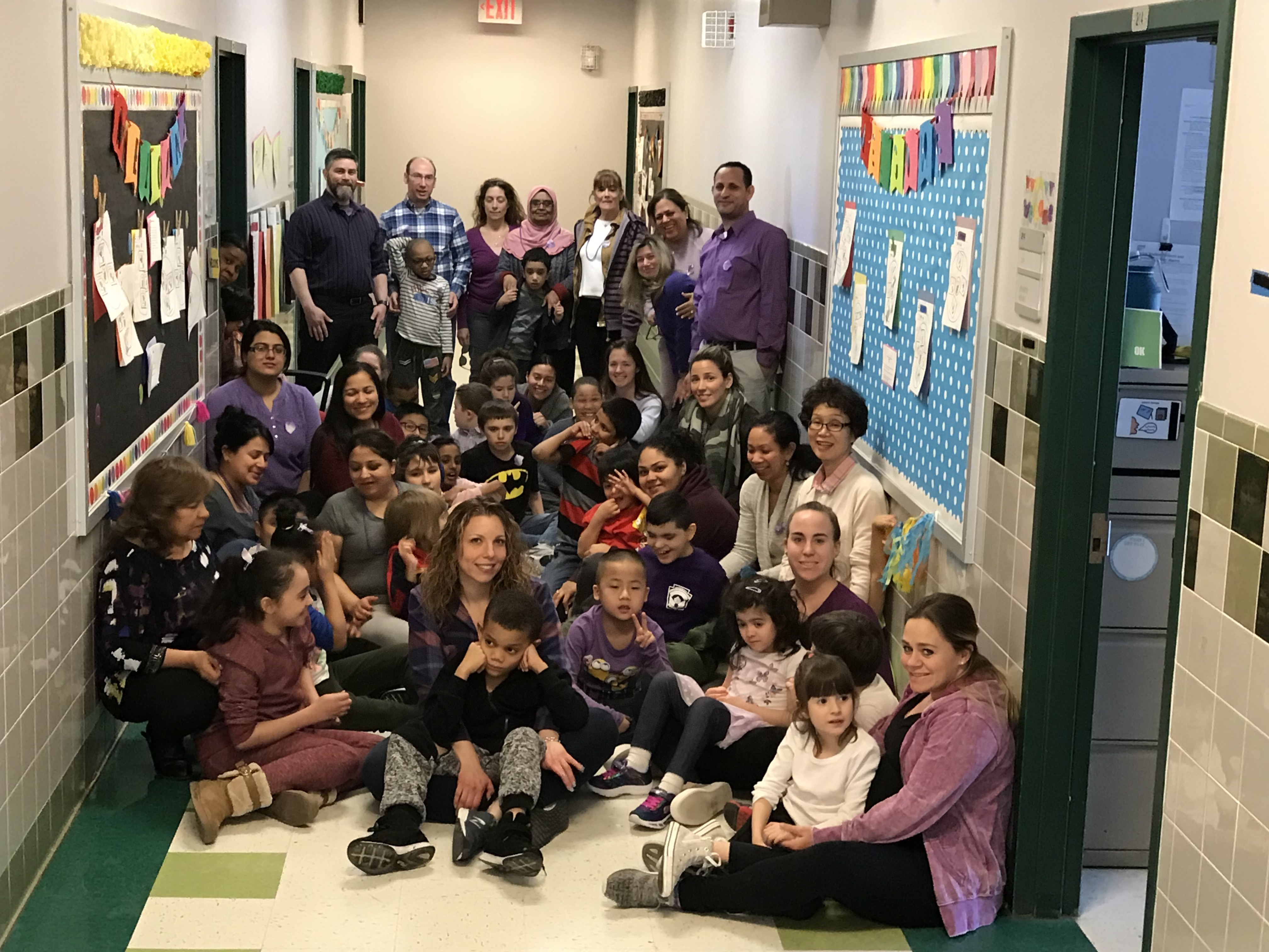 The P255q @ PS128 Crew celebrates Purple Day for Epilepsy Awareness!