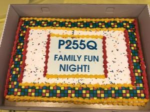 Family Fun Night - Cake