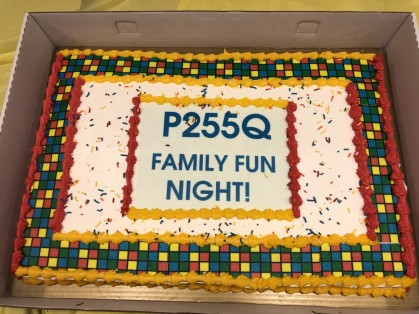 Family Fun Night - Cake