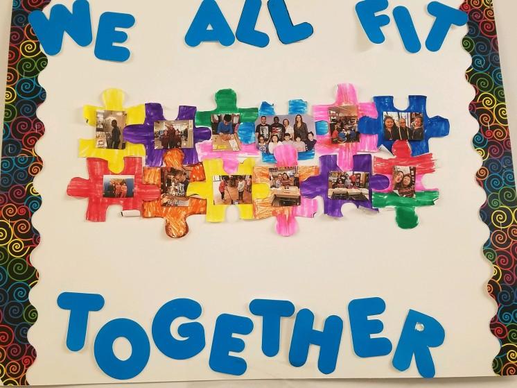 Autism Awareness Student Artwork!