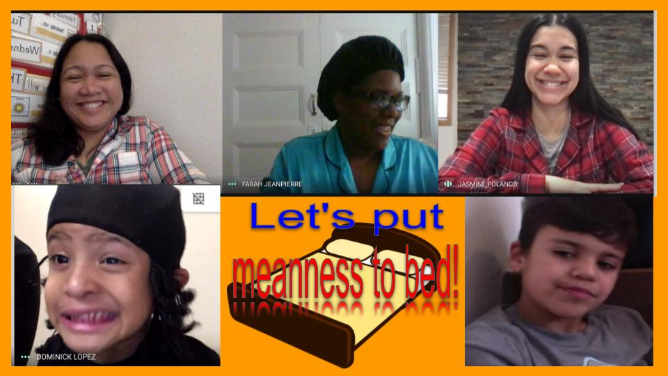 Online class - lets put meanness to bed